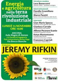 Energia e agricoltura nella terza rivoluzione industriale