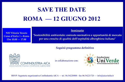 Save the date - AICA.pub