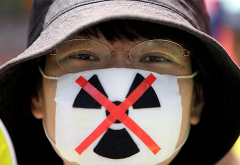 Giappone, protesta anti-nucleare