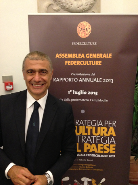 Alfonso Pecoraro Scanio Federculture