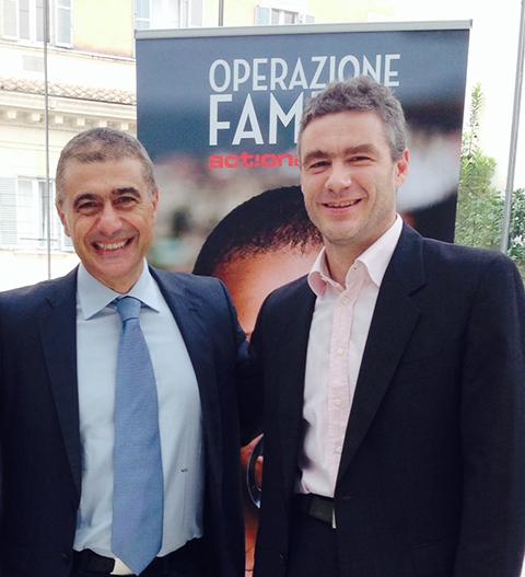Alfonso Pecoraro Scanio_Marco De Ponte_Operazione Fame
