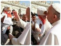 Papa benedizione pizzaiuoli Pecoraro Scanio