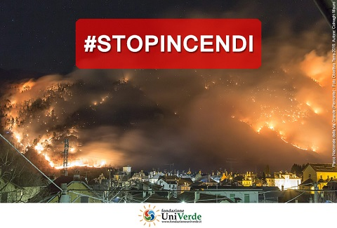 incendi #stopincendi Alfonso Pecoraro Scanio