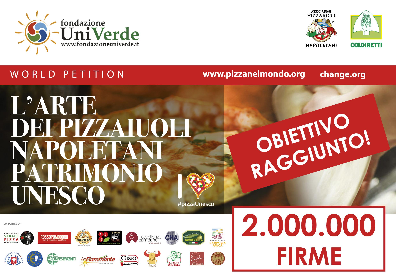 #pizzaUnesco: 2 MILIONI di firme!