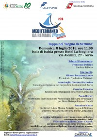 Programma - Forio (Ischia), 8 luglio 2018 Mediterraneo da Remare