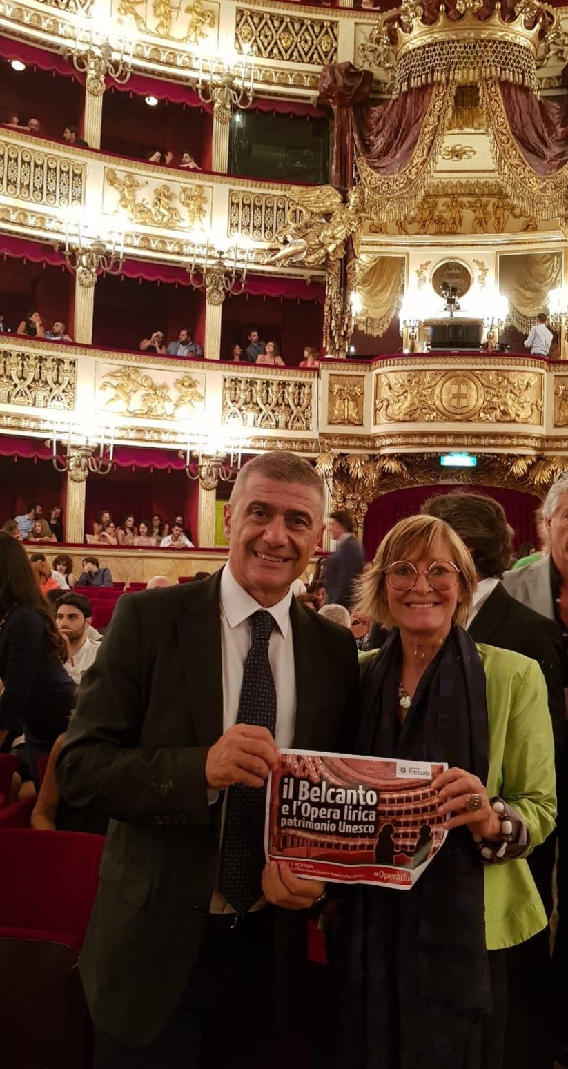 Alfonso Pecoraro Scanio e Rosanna Purchia