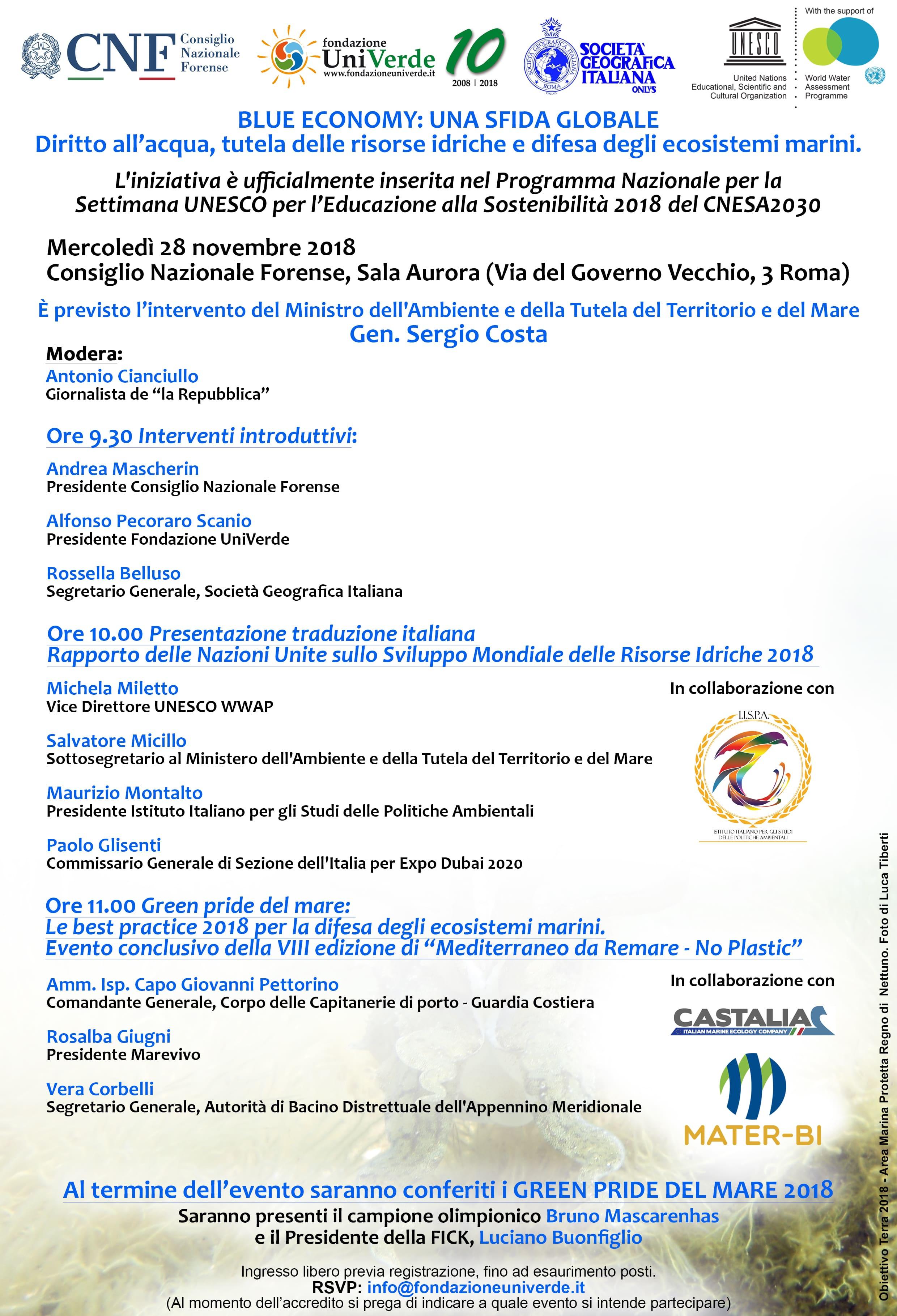Roma, 28 novembre 2018 - CNF, Sala Aurora