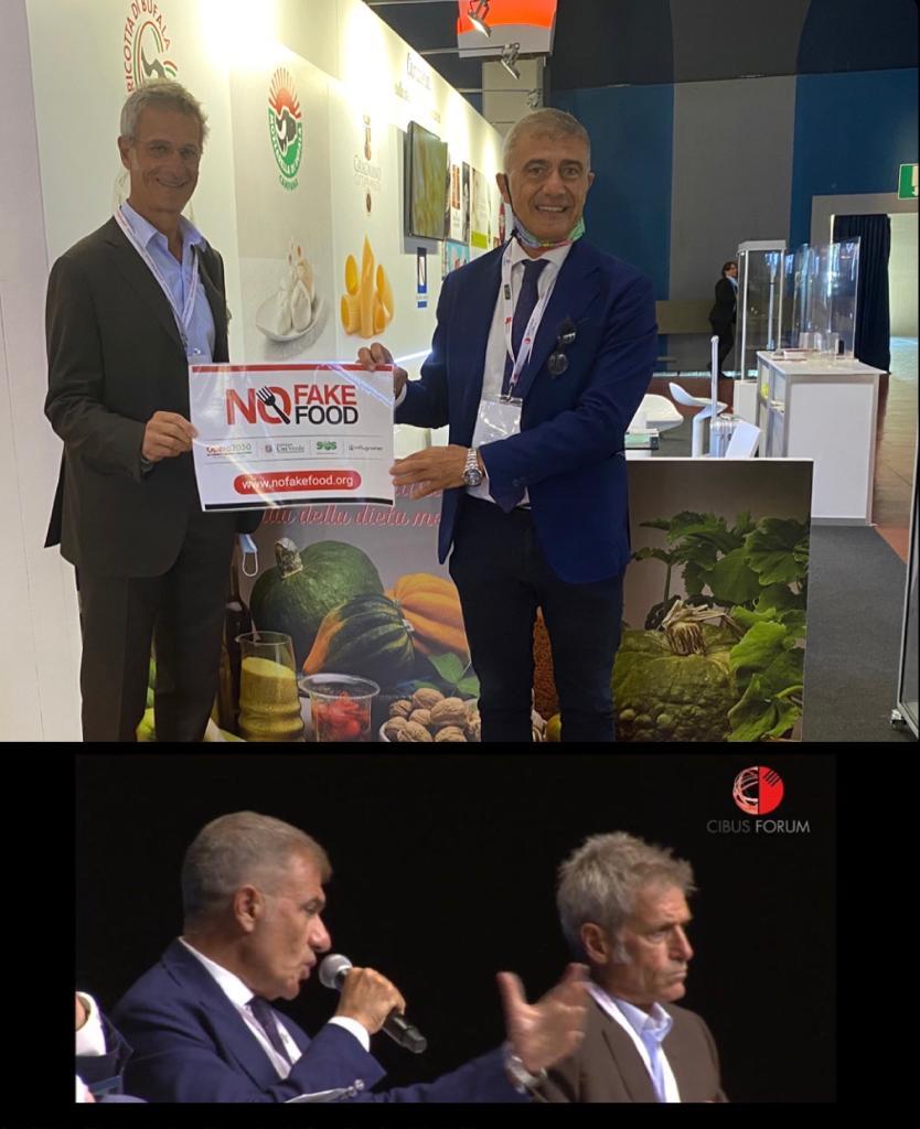 #NoFakeFood a Cibus Forum Parma