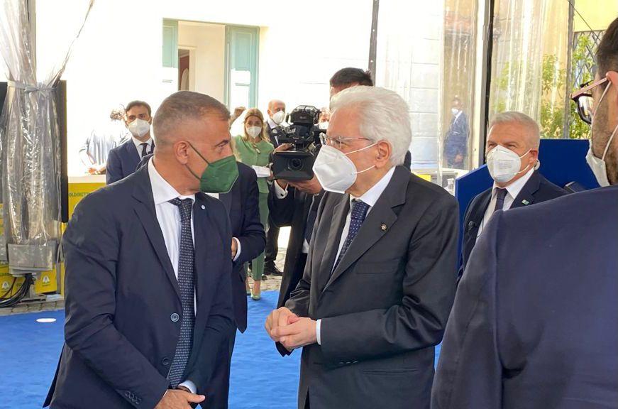 Pecoraro Scanio e il Presidente Mattarella